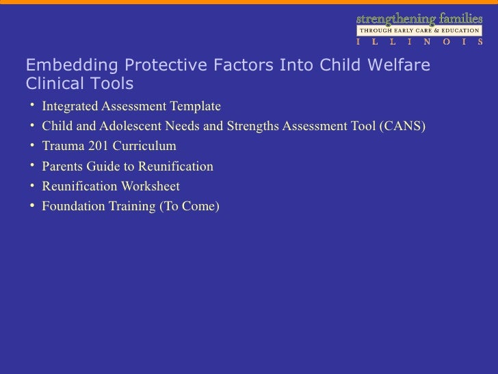 Strengthening Families In Child Welfare Professional