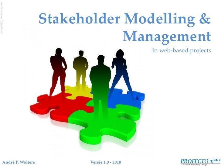 Image: Salvatore Vuono / FreeDigitalPhotos.net                                                         Stakeholder Modelli...