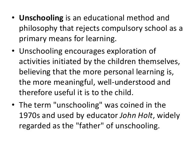 Three disciplines for children writen by john holt