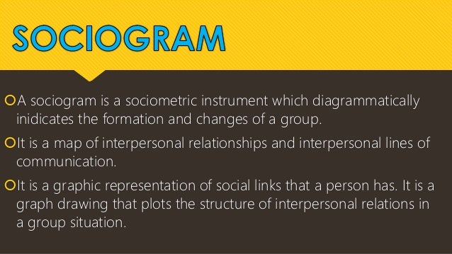 advantages and disadvantages of sociometry Psychodrama 'a deux or one-to-one psychodrama is described by haskell as a sociometry is a measure of the quality and quantity advantages and disadvantages.