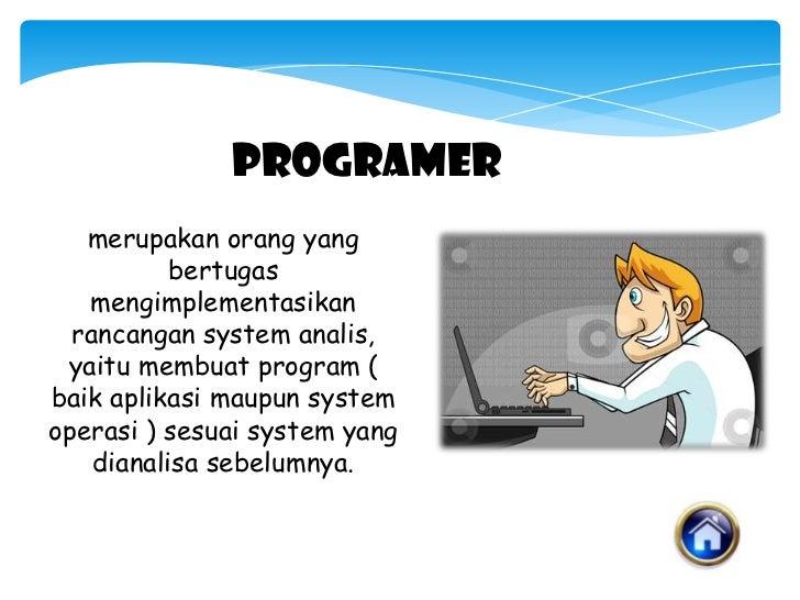 Profesi Dalam Bidang IT Slide 2