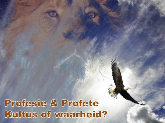 Die doel van Profesie • Profesie as waarskuwing – Josef (Mat 2:13) die WyseProfesie as waarskuwing – Josef (Mat 2:13) die ...