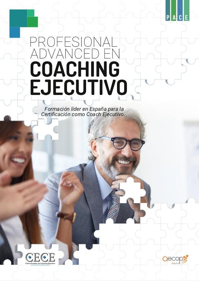 Formación líder en España para la Certificación como Coach Ejecutivo.