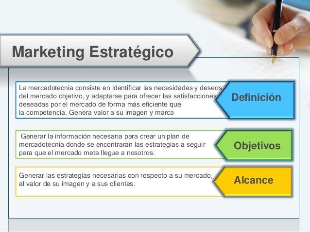 Marketing Segmentode Mercado 4´psMarca Publicidad Promoción Mercadotecnia de Servicios y Análisis de Competencia. Plan de ...