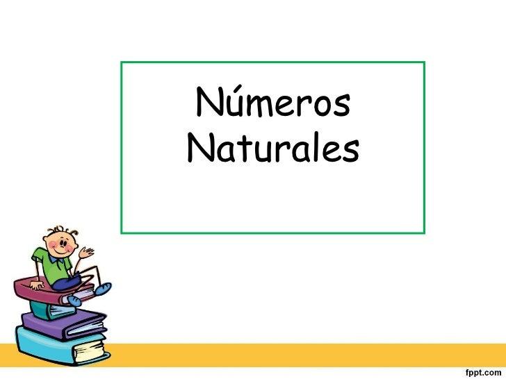 NúmerosNaturales