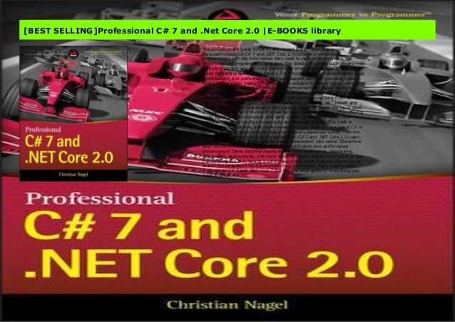 Best Selling Professional C 7 And Net Core 2 0 E Books Library