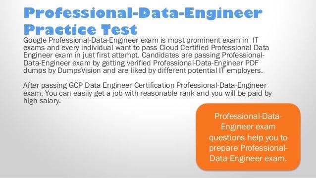 Valid Professional-Data-Engineer Exam Test Dumps - Pass