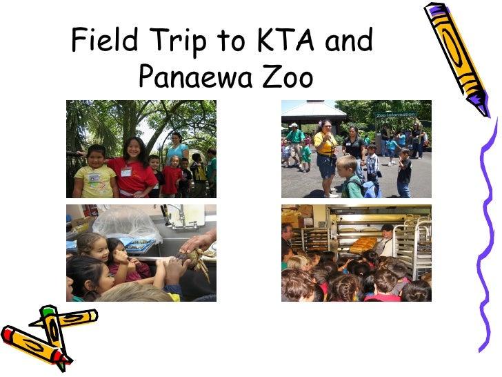 Field Trip to KTA and  Panaewa Zoo