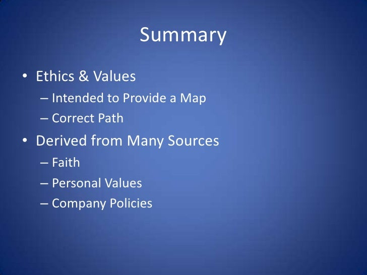 how do professional values and ethics impact career success The degree to which our behavior matches our attitudes has to do with  the impact that these implied attitudes have on the  attitudes, values, and ethics 81.