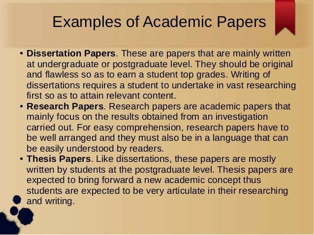 Professional academic writers