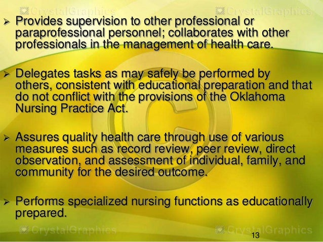 personal and professional accountability in nursing Accountability standard statement supports quality professional nursing practice, is effective in implementing change and responds to nurses' concerns.