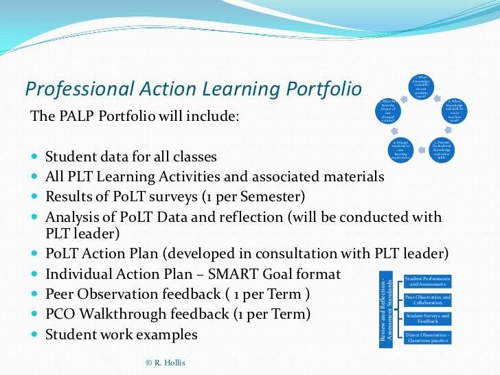 E-learning portfolio template for articulate storyline e.
