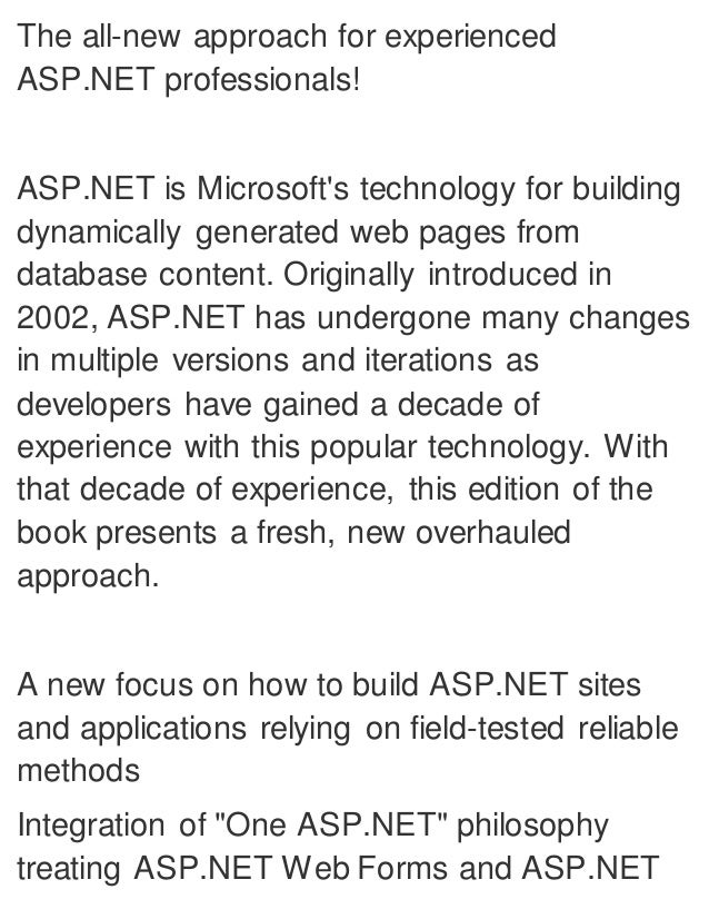 asp.net with c pdf books free download