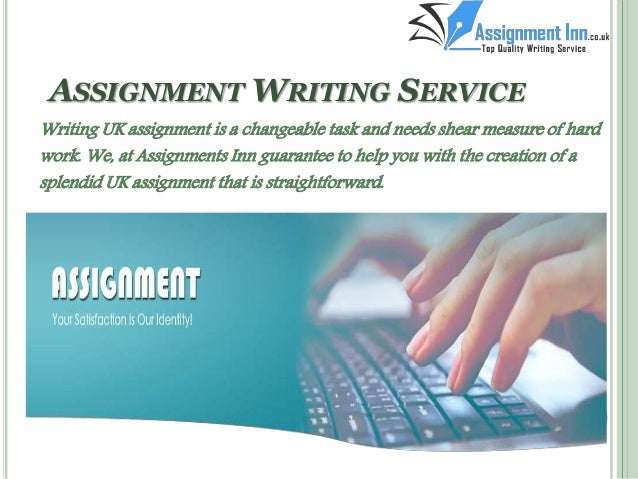 ASSIGNMENT WRITING SERVICE     SlideShare