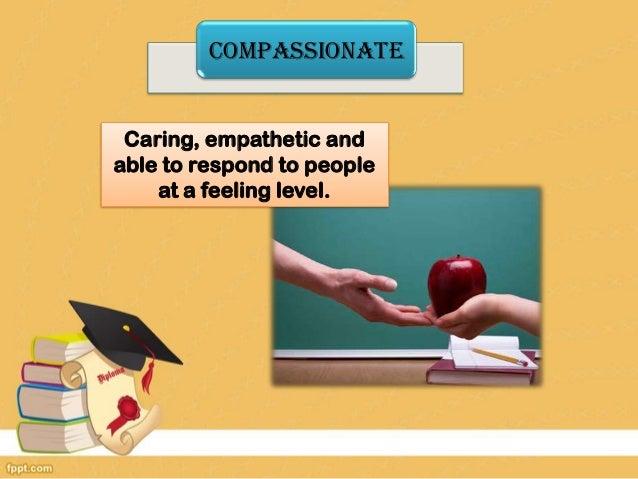 attributes of a professional teacher What makes a good teacher f ll i litifollowing qualities what makes a good teacher – are compassionate and professional.