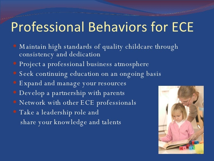 Maintaining commitment to professionalism in early childhood education