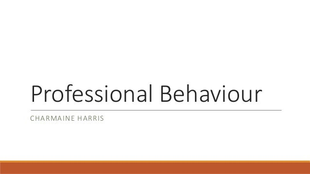 professional behaviour Define professionalism: the conduct, aims, or qualities that characterize or mark a profession or a professional — professionalism in a sentence.