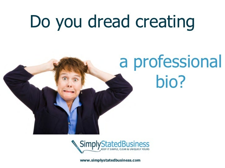 Creating a Better Professional Bio