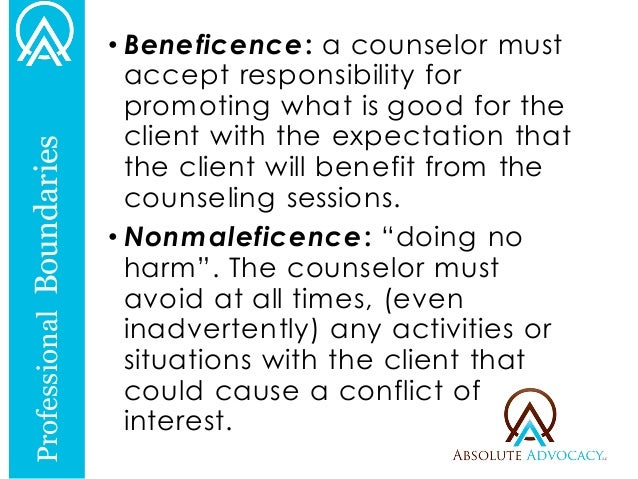 ethical boundaries in counseling