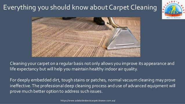 Professional Carpet Cleaning Services in Adelaide https://www.adelaidesbestcarpetcleaner.com.au/; 2. ...