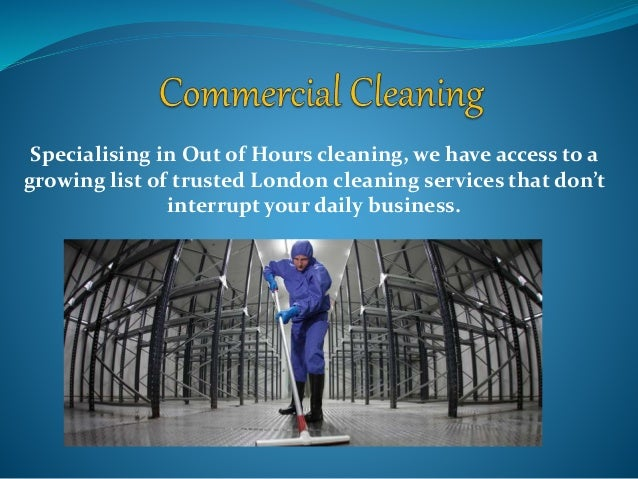 Specialising in Out of Hours cleaning, we have access to a growing list of trusted London cleaning services that don't int...