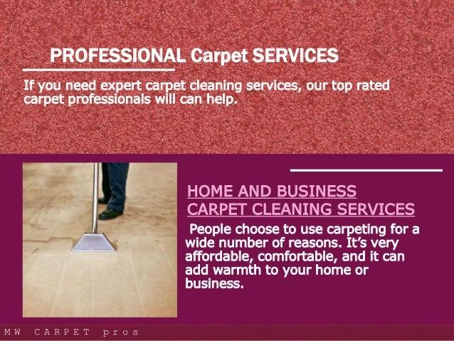 Professional Carpet Services