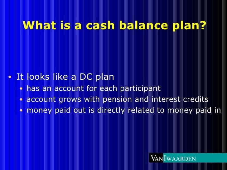 Professional firm cash balance plans Slide 3