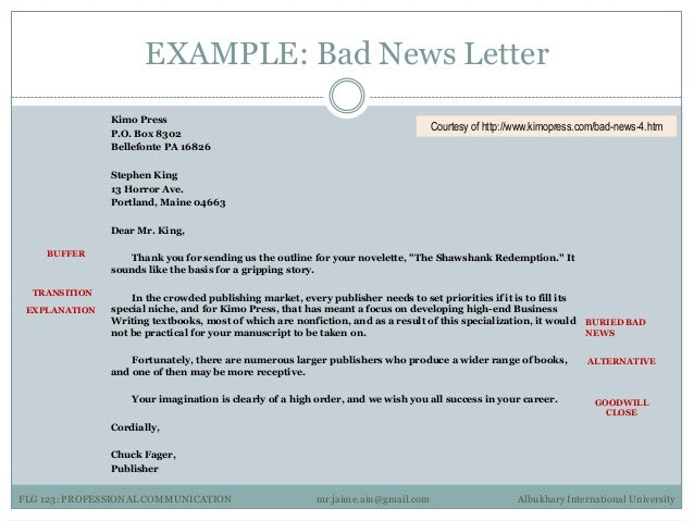 bad news message format mersn proforum co