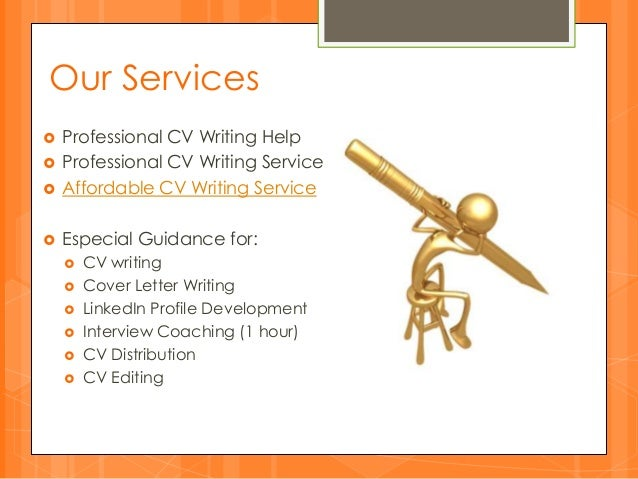 cv writing services india
