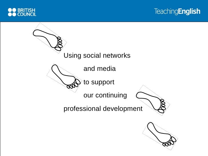 Global home for teachers                    Using social networks                           and media                     ...
