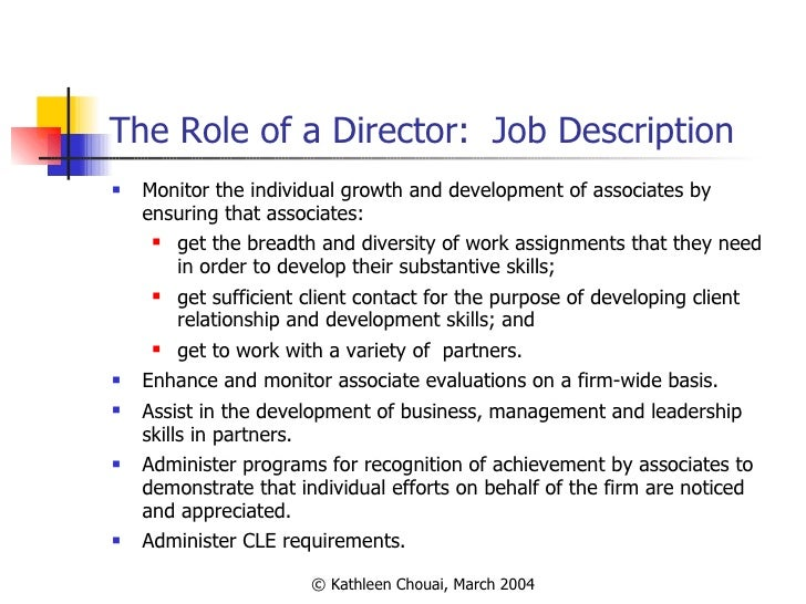 Development Director Job Description Logo Hereyour Company Name Ie