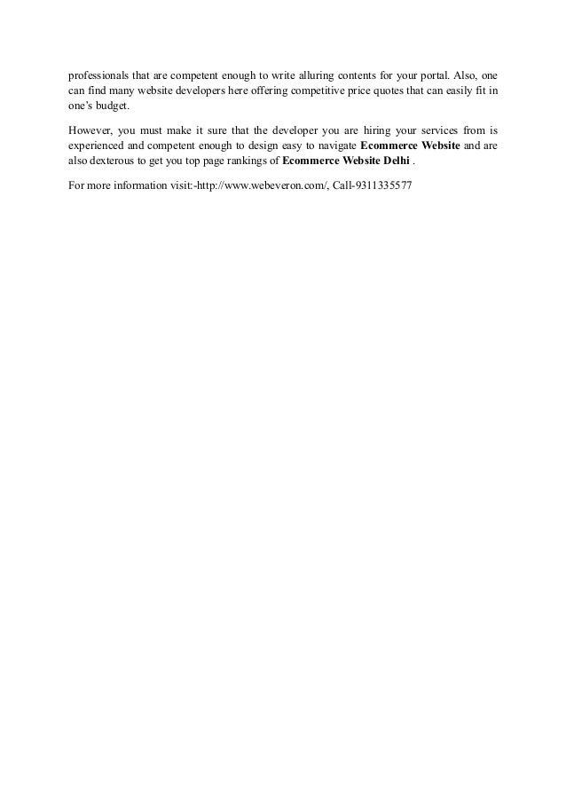 Professional ecommerce website design company Slide 2