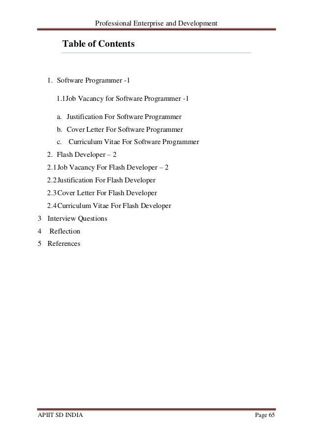 professional enterprise and development ibm