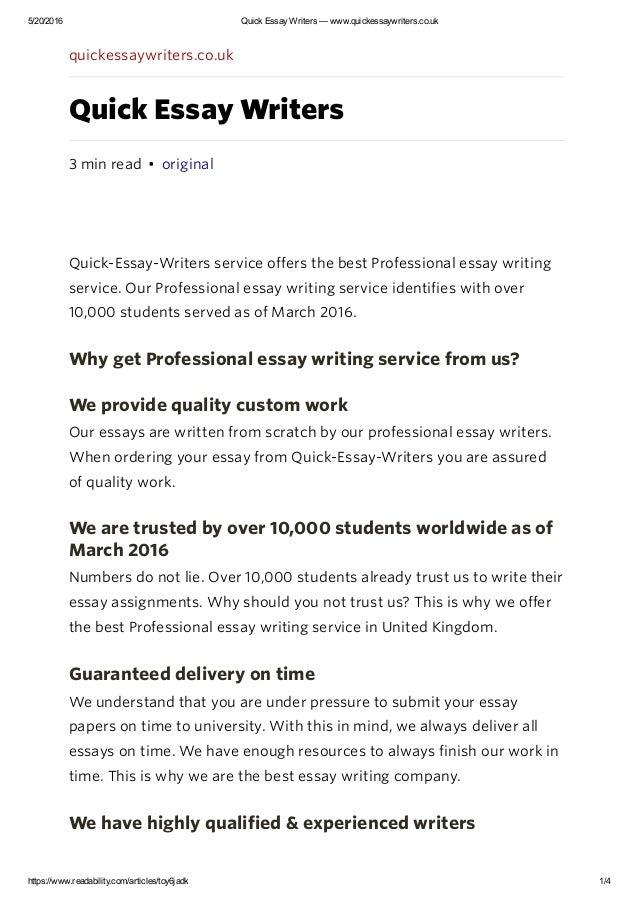 Order best reflective essay