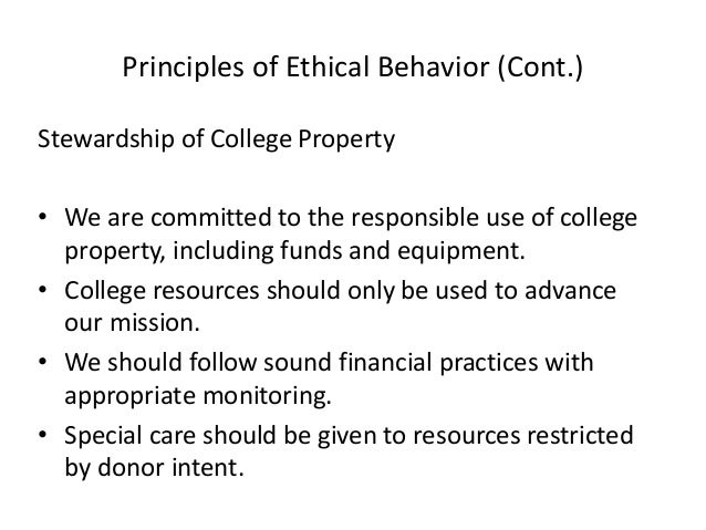 examples that reflect ethical standards of conduct of financial reporting practices Health care finance/reporting practices and  financial ethical standards provide examples from the articles that reflect ethical standards of conduct and.