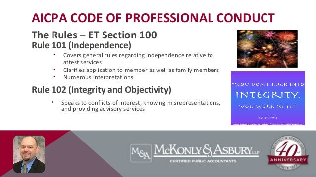 aicpa code of professional conduct Read this essay on aicpa code of professional conduct principles come browse our large digital warehouse of free sample essays get the knowledge you need in order to pass your classes and more.