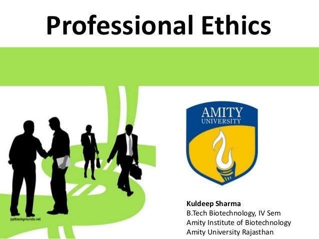professional ethics ppt