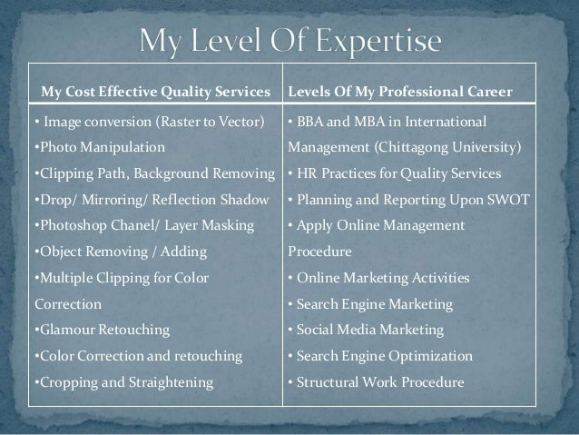 Professional Experience of Kamrul Islam Slide 2