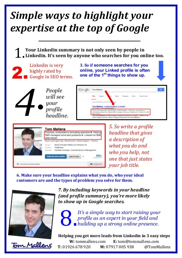 Simple  ways  to  highlight  your   expertise  at  the  top  of  Google             1.    Yo...