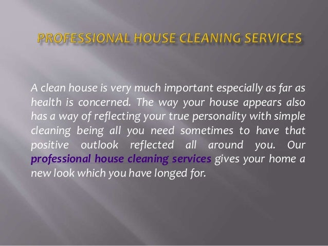 Professional House Cleaning Services Offering A Variety Of Safe Clean