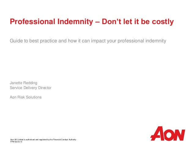 Professional Indemnity – Don't let it be costlyGuide to best practice and how it can impact your professional indemnityJan...
