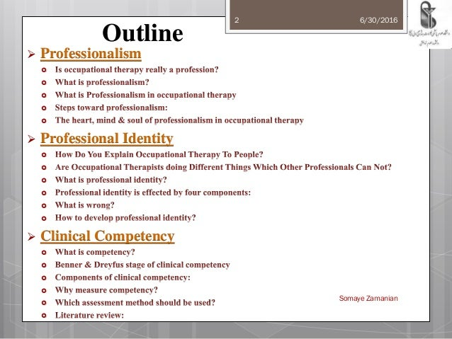 Wonderful Professionalismprofessional Identity And Clinical Competency In Occupational Therapy 2 638?cb=1468430960