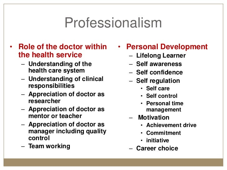professionalism in the health field A mental health professional is a health care practitioner or community services provider who offers services for the purpose of improving an individual's mental health or to treat mental disorders this broad category was developed as a name for community personnel who worked in the new community mental health agencies begun in the 1970s to.