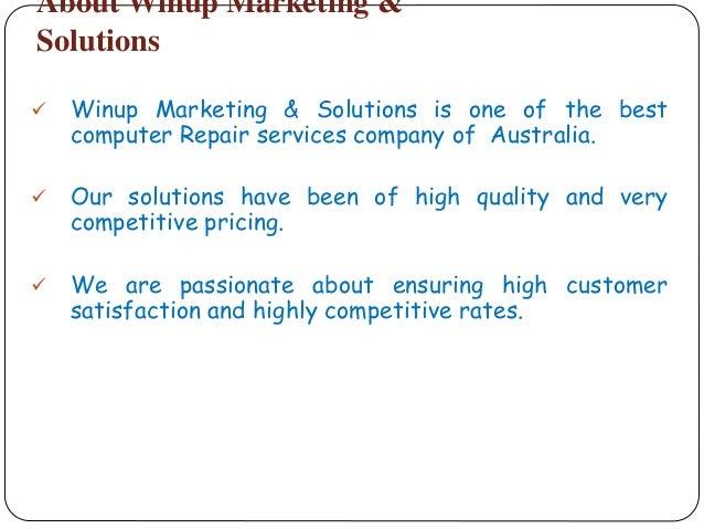 Professional laptop & computer repair service company melbourne Slide 2