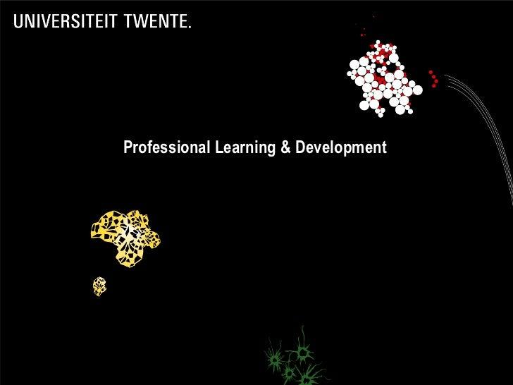 Professional Learning & Development                                      1