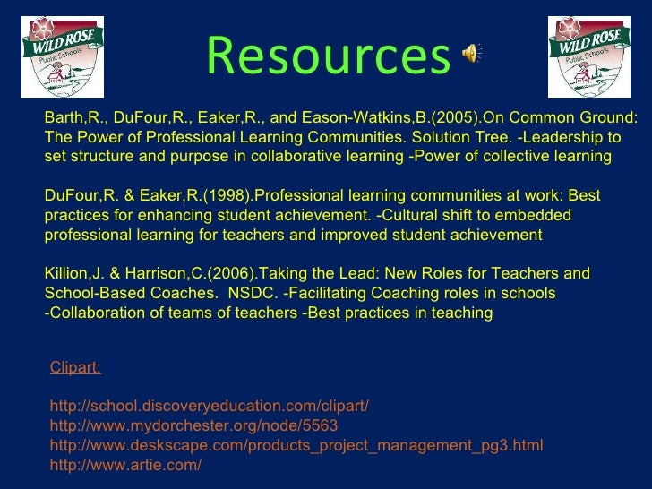 Professional Learning Teams Powerpoint 1a
