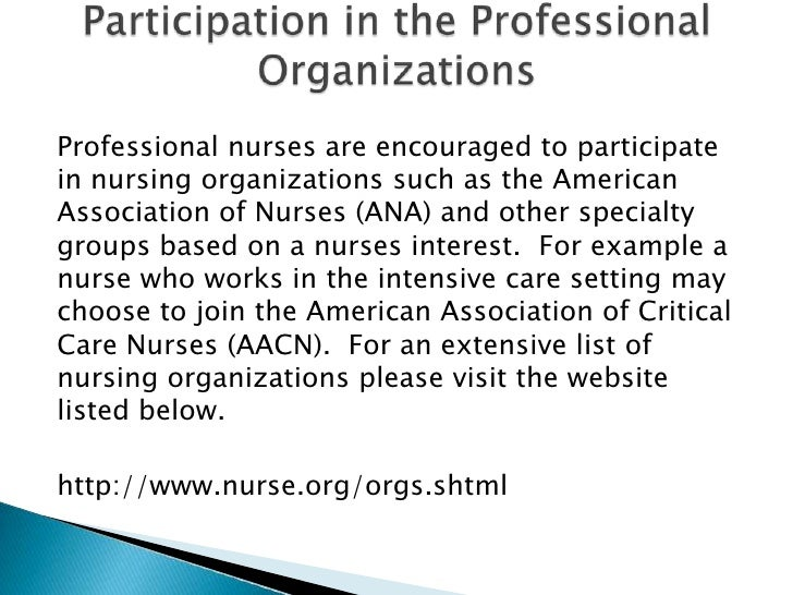 critical care nurses aacn mission statement essay Daily activities of nurses in hospital custom essay knowledge and experiences of nurses on prioritizing comfort measures in care of the dying patient in an.