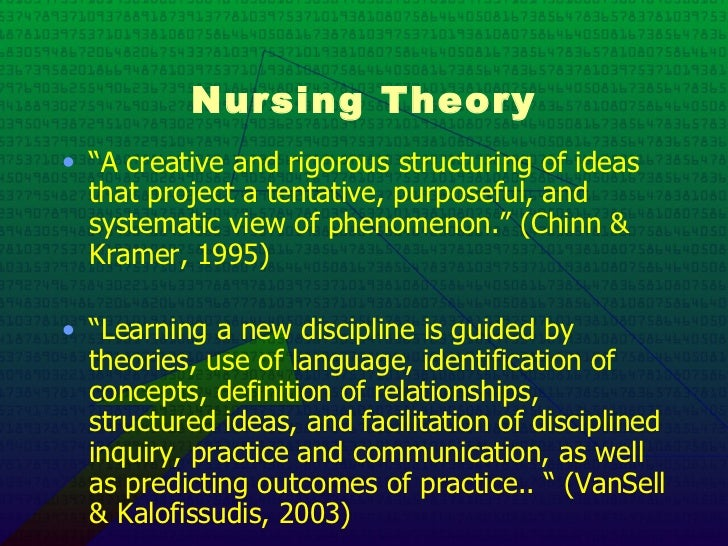 chinn and kramer Find great deals for knowledge development in nursing : theory and process by peggy l chinn and maeona k kramer (2014, paperback) shop with confidence on ebay.