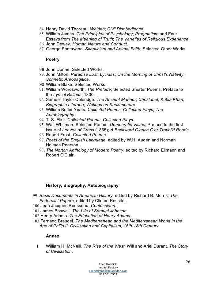 coleridge documents concerning method