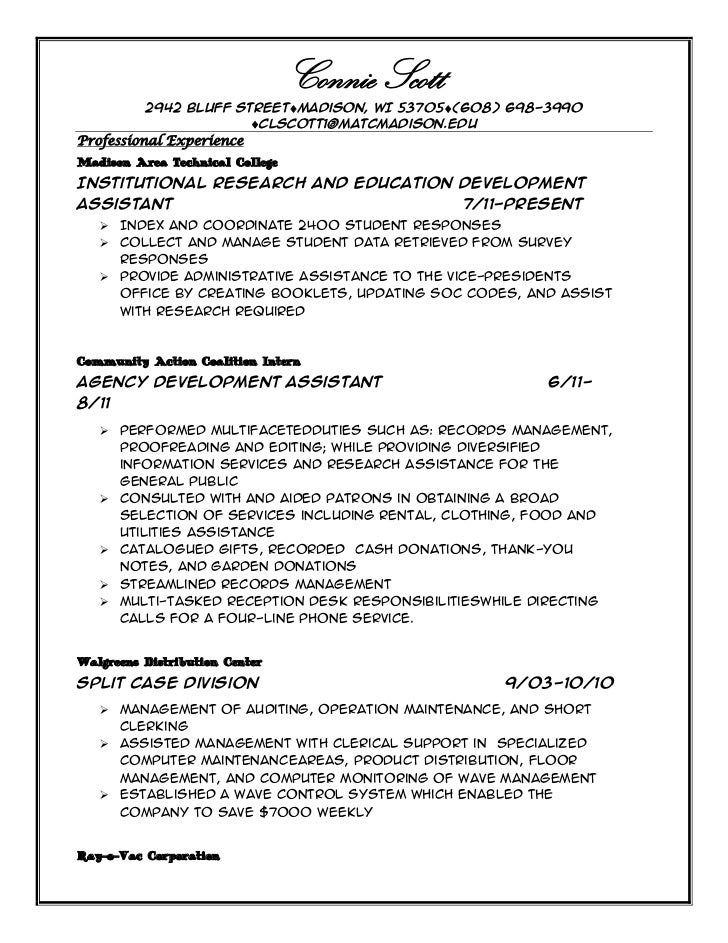 SlideShare  Professional Profile Resume